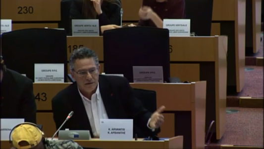 "(Video) Addressing the LIBE Committee on drugs: ""We must fight the causes that make a person choose to die"""