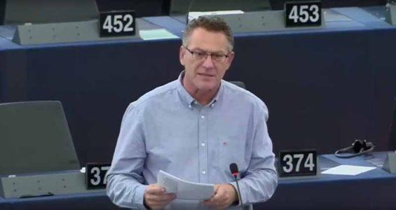 (Video) Όχι στην Ευρώπη του Φόβου, του Σκοταδισμού, του περιορισμού των Δικαιωμάτων – Τοποθέτηση στην Ολομέλεια του Ε/Κ