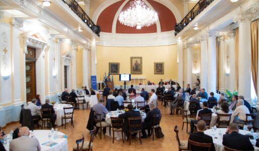 Χαιρετισμός Κ. Αρβανίτη στο EUROMIL-ΠΟΜΕΝΣ: 124ο Συνέδριο στην Αθήνα Λ.Α.Ε.Δ.