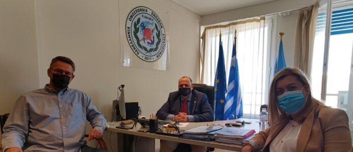 Κώστας Αρβανίτης: Συνάντηση με τη Διοίκηση της ΠΟΜΕΝΣ